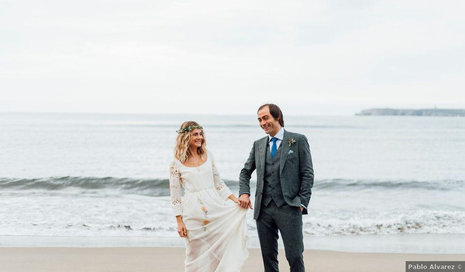 La boda de Pedro y Olaya en Salinas, Asturias