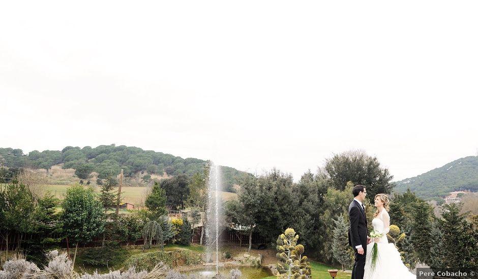 La boda de Fernando y Silvia en Sant Fost De Campsentelles, Barcelona