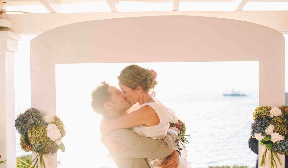 La boda de Agus y Raquel en Cala Tarida, Islas Baleares