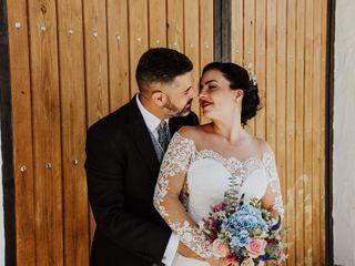 La boda de Fayna y Rubén
