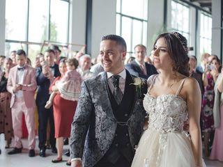 La boda de Andrea y Tomy