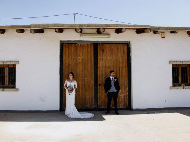 La boda de Rubén y Fayna en Arico, Santa Cruz de Tenerife 1