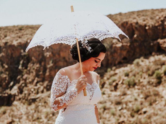 La boda de Rubén y Fayna en Arico, Santa Cruz de Tenerife 15