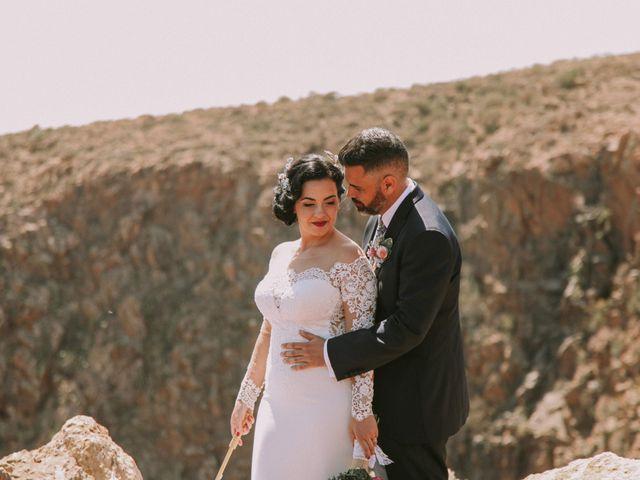 La boda de Rubén y Fayna en Arico, Santa Cruz de Tenerife 2