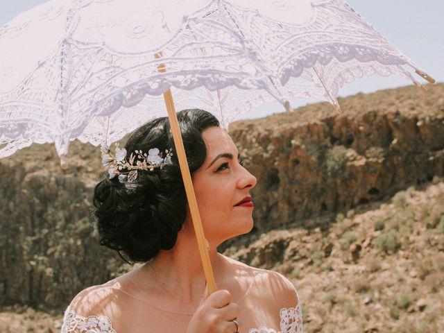 La boda de Rubén y Fayna en Arico, Santa Cruz de Tenerife 16