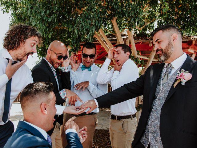 La boda de Rubén y Fayna en Arico, Santa Cruz de Tenerife 17