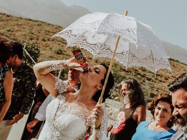 La boda de Rubén y Fayna en Arico, Santa Cruz de Tenerife 23