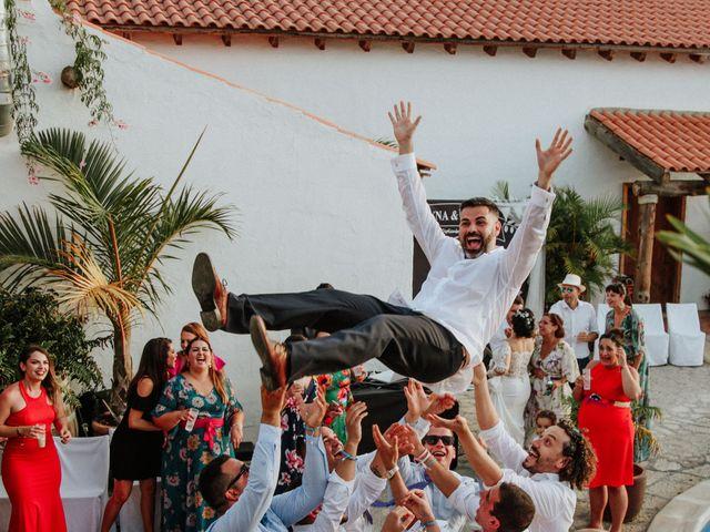 La boda de Rubén y Fayna en Arico, Santa Cruz de Tenerife 28
