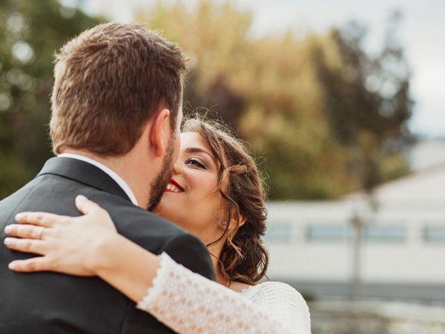 La boda de Aroha y Rubén