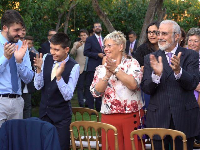 La boda de Sergio y Raquel en Velilla De San Antonio, Madrid 64