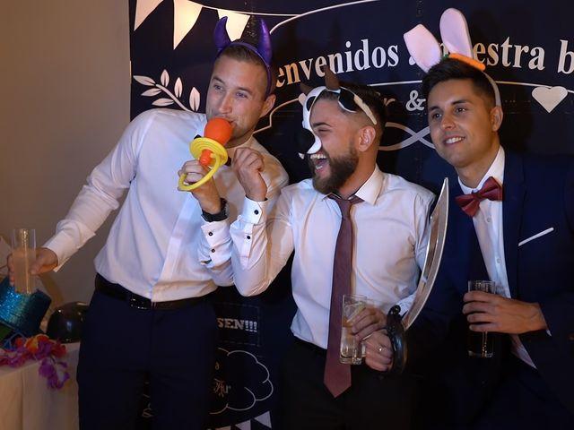 La boda de Sergio y Raquel en Velilla De San Antonio, Madrid 156