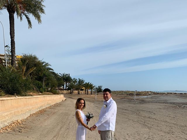 La boda de Felix y Patrizia en Santa Pola, Alicante 9