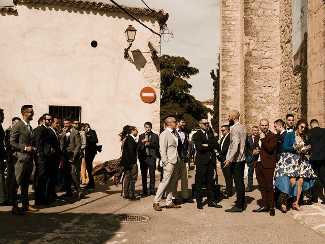 La boda de Ainhoa y Carlos en Villamayor De Santiago, Cuenca 25