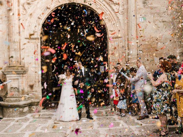 La boda de Ainhoa y Carlos en Villamayor De Santiago, Cuenca 49