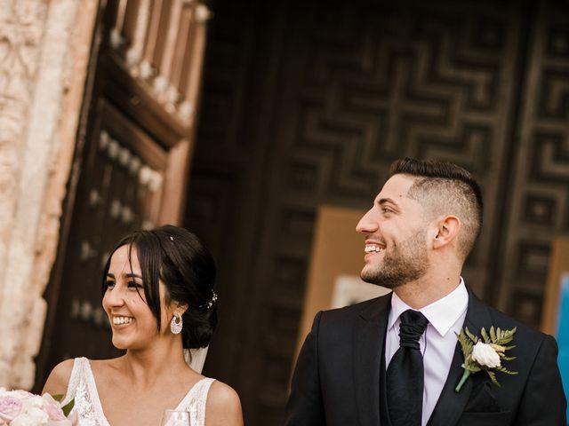 La boda de Ainhoa y Carlos en Villamayor De Santiago, Cuenca 50