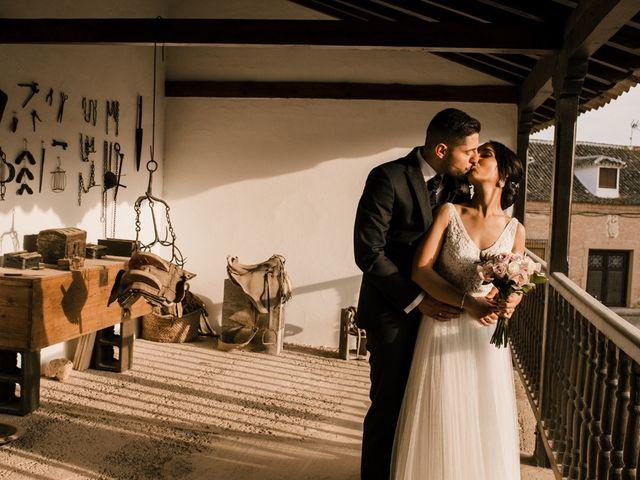 La boda de Ainhoa y Carlos en Villamayor De Santiago, Cuenca 55