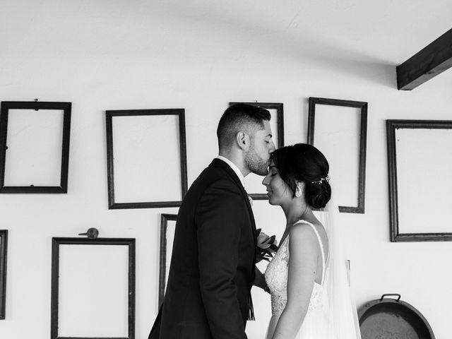 La boda de Ainhoa y Carlos en Villamayor De Santiago, Cuenca 56