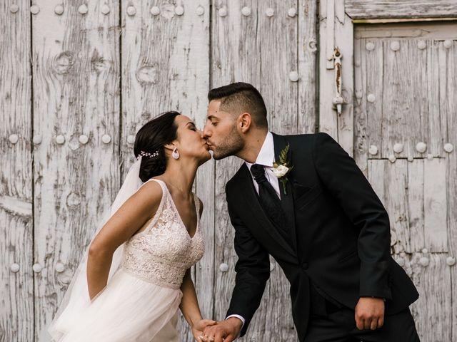La boda de Ainhoa y Carlos en Villamayor De Santiago, Cuenca 59