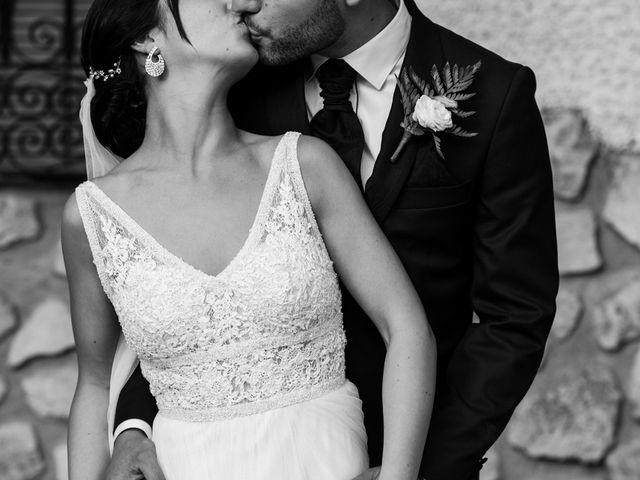 La boda de Ainhoa y Carlos en Villamayor De Santiago, Cuenca 61