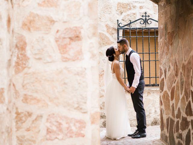 La boda de Ainhoa y Carlos en Villamayor De Santiago, Cuenca 62