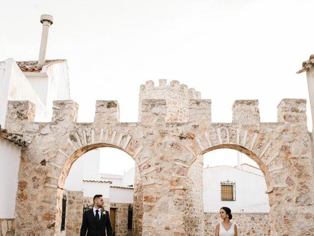 La boda de Ainhoa y Carlos en Villamayor De Santiago, Cuenca 64