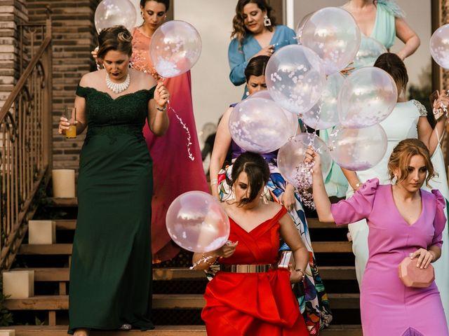 La boda de Ainhoa y Carlos en Villamayor De Santiago, Cuenca 70