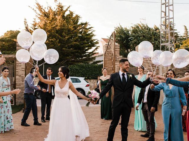 La boda de Ainhoa y Carlos en Villamayor De Santiago, Cuenca 71