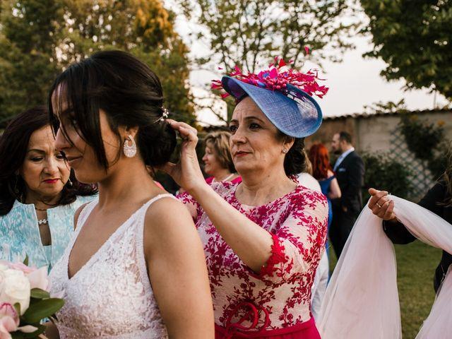 La boda de Ainhoa y Carlos en Villamayor De Santiago, Cuenca 77