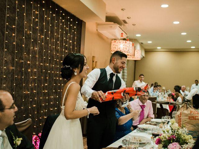 La boda de Ainhoa y Carlos en Villamayor De Santiago, Cuenca 93