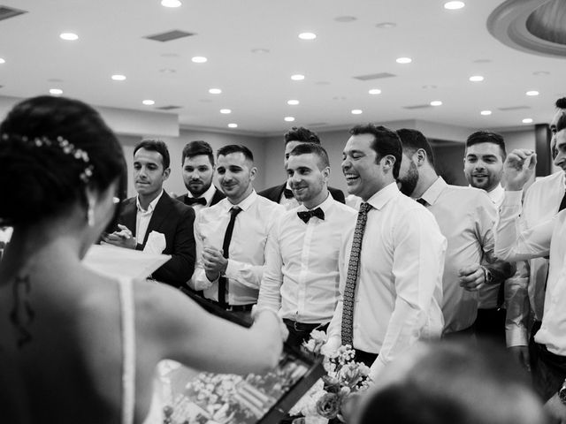 La boda de Ainhoa y Carlos en Villamayor De Santiago, Cuenca 94