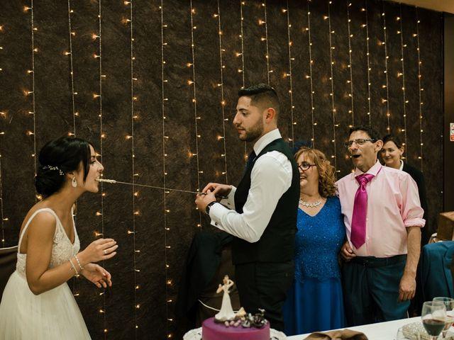 La boda de Ainhoa y Carlos en Villamayor De Santiago, Cuenca 99
