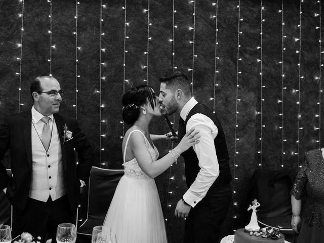 La boda de Ainhoa y Carlos en Villamayor De Santiago, Cuenca 100