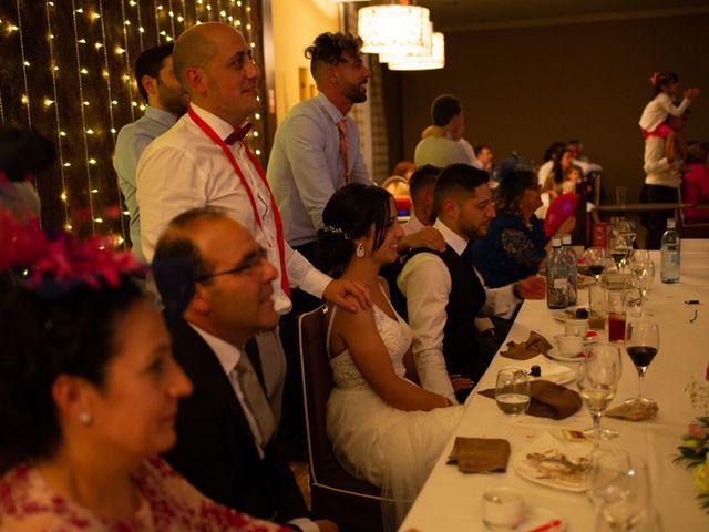 La boda de Ainhoa y Carlos en Villamayor De Santiago, Cuenca 110