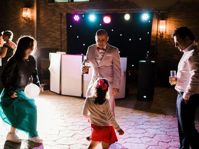 La boda de Ainhoa y Carlos en Villamayor De Santiago, Cuenca 111