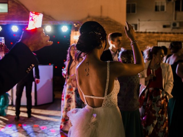 La boda de Ainhoa y Carlos en Villamayor De Santiago, Cuenca 117