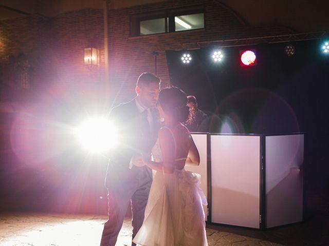 La boda de Ainhoa y Carlos en Villamayor De Santiago, Cuenca 118