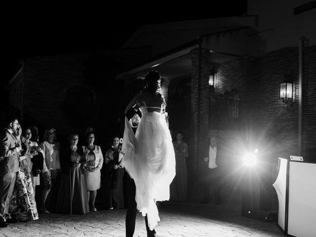 La boda de Ainhoa y Carlos en Villamayor De Santiago, Cuenca 122