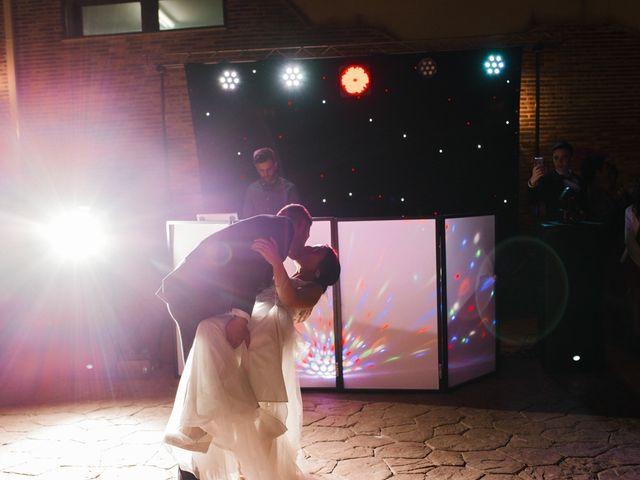 La boda de Ainhoa y Carlos en Villamayor De Santiago, Cuenca 123