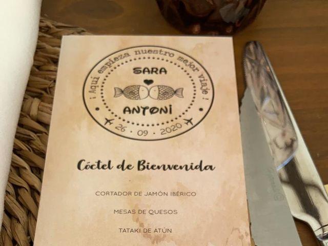 La boda de Sara y Antoni en L' Olleria, Valencia 9