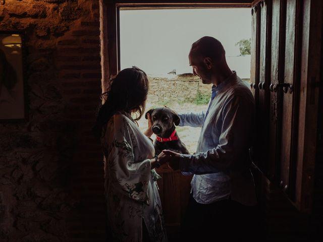 La boda de María y Luis Alberto en Villar De Los Alamos, Salamanca 17