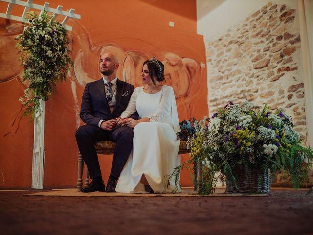 La boda de María y Luis Alberto en Villar De Los Alamos, Salamanca 82