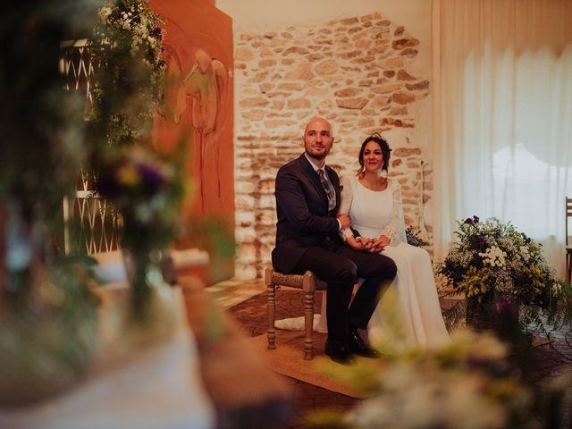 La boda de María y Luis Alberto en Villar De Los Alamos, Salamanca 83
