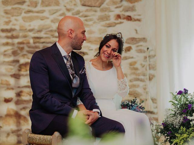 La boda de María y Luis Alberto en Villar De Los Alamos, Salamanca 87