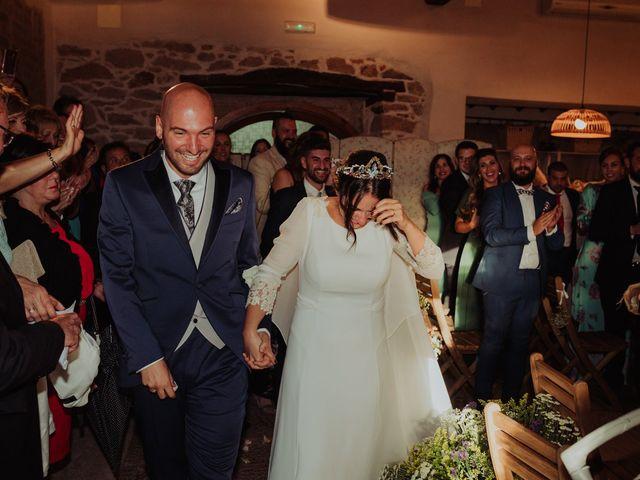 La boda de María y Luis Alberto en Villar De Los Alamos, Salamanca 89