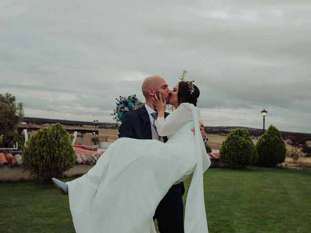 La boda de María y Luis Alberto en Villar De Los Alamos, Salamanca 101