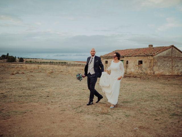 La boda de María y Luis Alberto en Villar De Los Alamos, Salamanca 111
