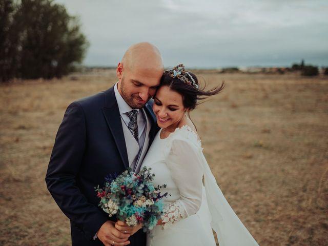 La boda de María y Luis Alberto en Villar De Los Alamos, Salamanca 114