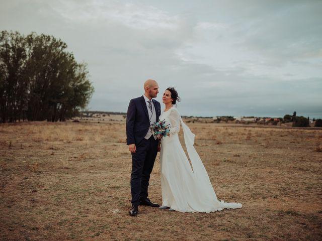 La boda de María y Luis Alberto en Villar De Los Alamos, Salamanca 115