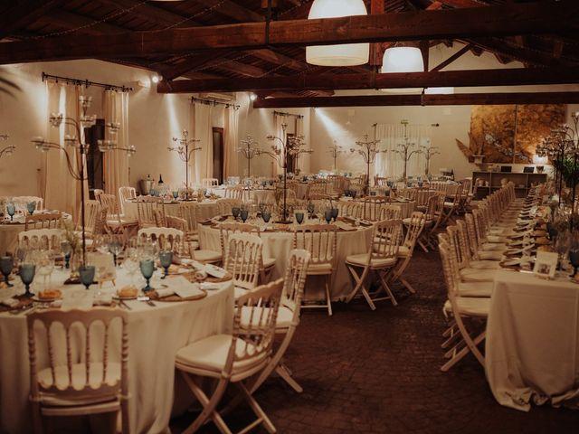La boda de María y Luis Alberto en Villar De Los Alamos, Salamanca 140