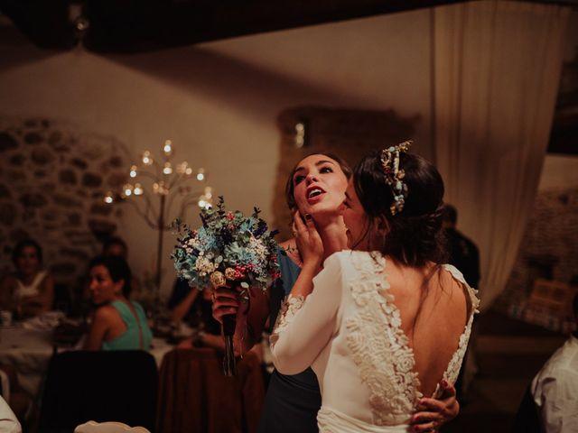 La boda de María y Luis Alberto en Villar De Los Alamos, Salamanca 173